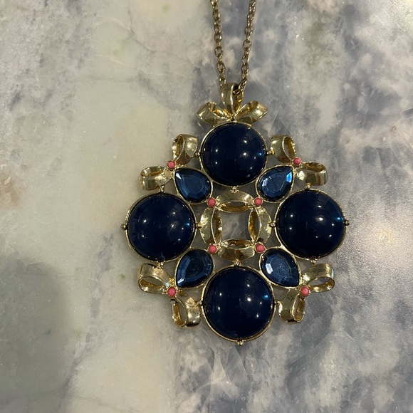 Lilly Pulitzer True Navy Necklace
